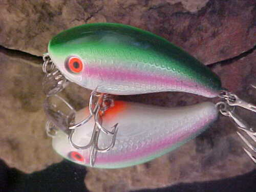the One foot Shallow Crank SB300-07 in Green Mullet Holo Mann/'s Tidewater Mid 1