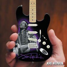 SALE ! Axe Heaven Jimi Hendrix Fender Strat Tribute Miniature Guitar & Stand