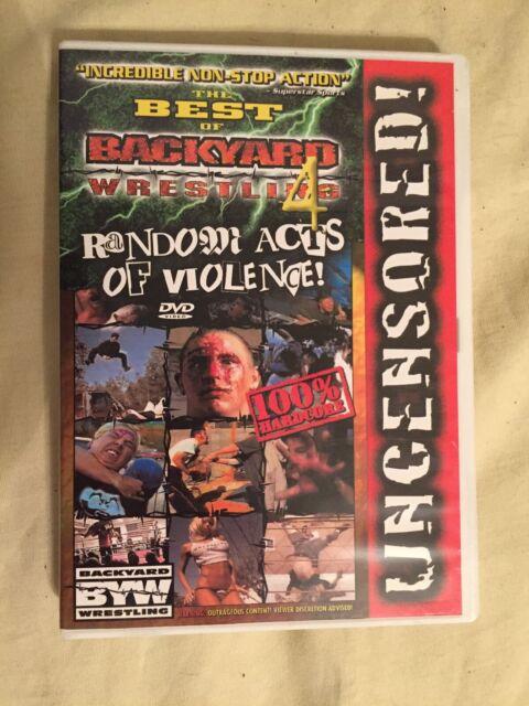 Best of Backyard Wrestling 4: Random Acts of Violence (VHS ...