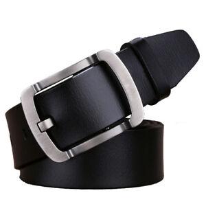 "Top quality Casual Mens Belts Gun pattern Cow Leather belt Waist Size 30/""-63/"""