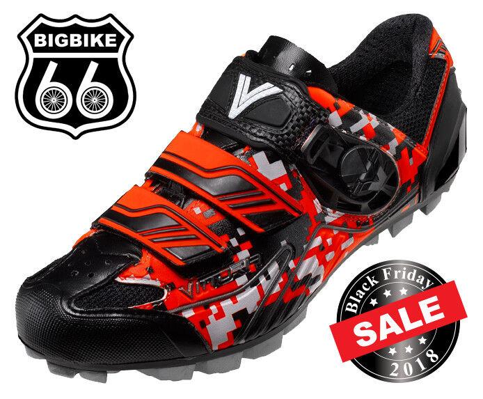 Vittoria Myto Mountain Bike Zapatos Hecho en Italia (Color  Camo Naranja) Talla 42.5