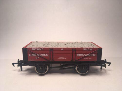 Dapol 00 4 pl wagon Bowne /& Shaw Limeworks Wirksworth Derbyshire Ltd Edition