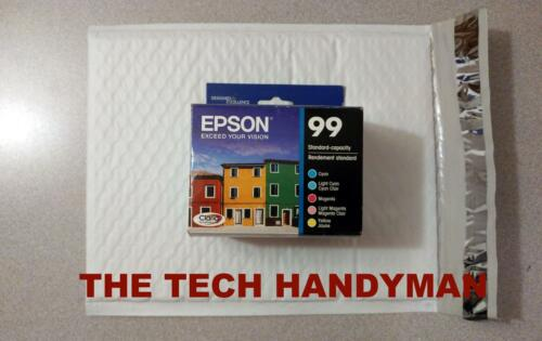 5-PACK Epson GENUINE 99 Color Ink RETAIL BOX ARTISAN 700 710 725 730