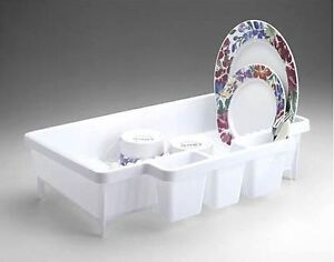 Rubbermaid 8354 00 Space Saver Dish Drainer Rack New White