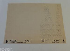 Microfich-Catalogo-de-Piezas-de-Repuesto-BMW-K1-Stand-05-1989