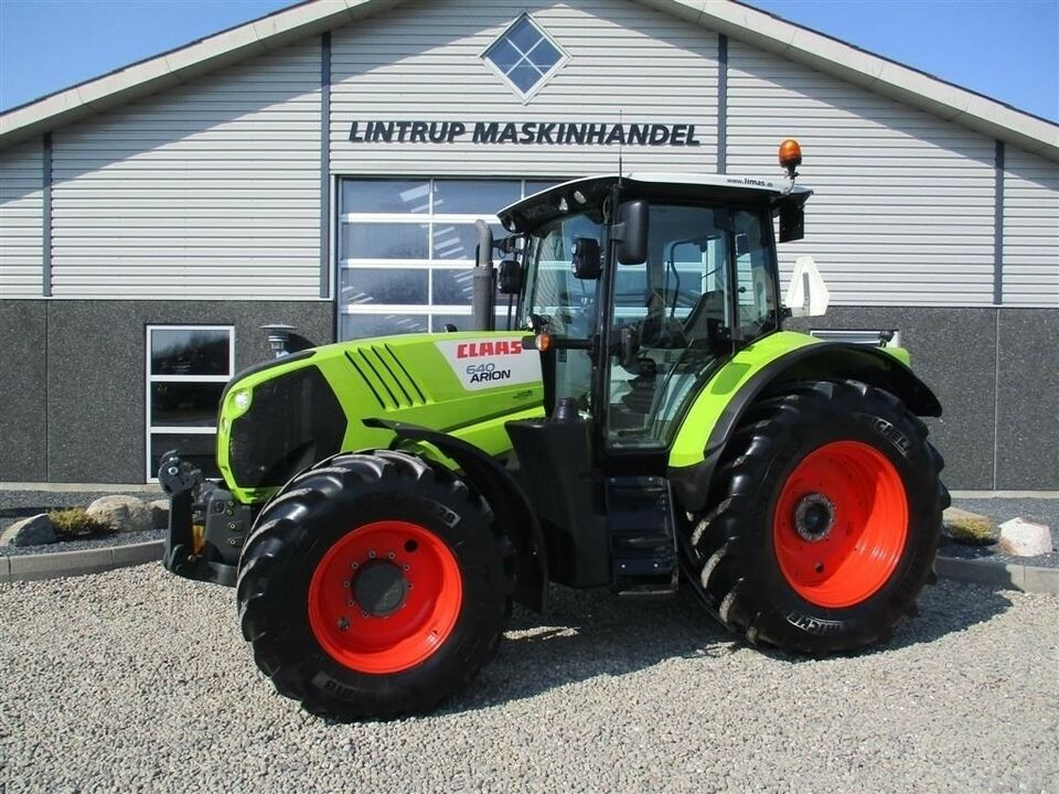 CLAAS, ARION 640 CEBIS Med frontlift & frontPTO, timer 1930