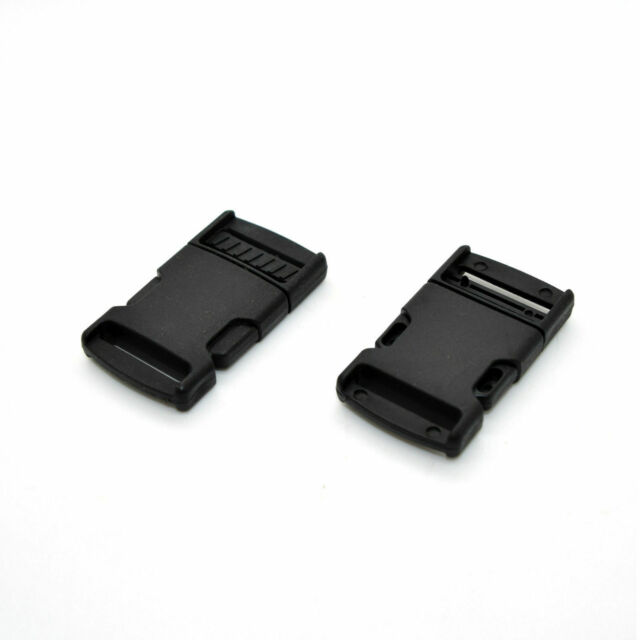 50-1 Inch YKK Contoured Side Release Plastic Buckle