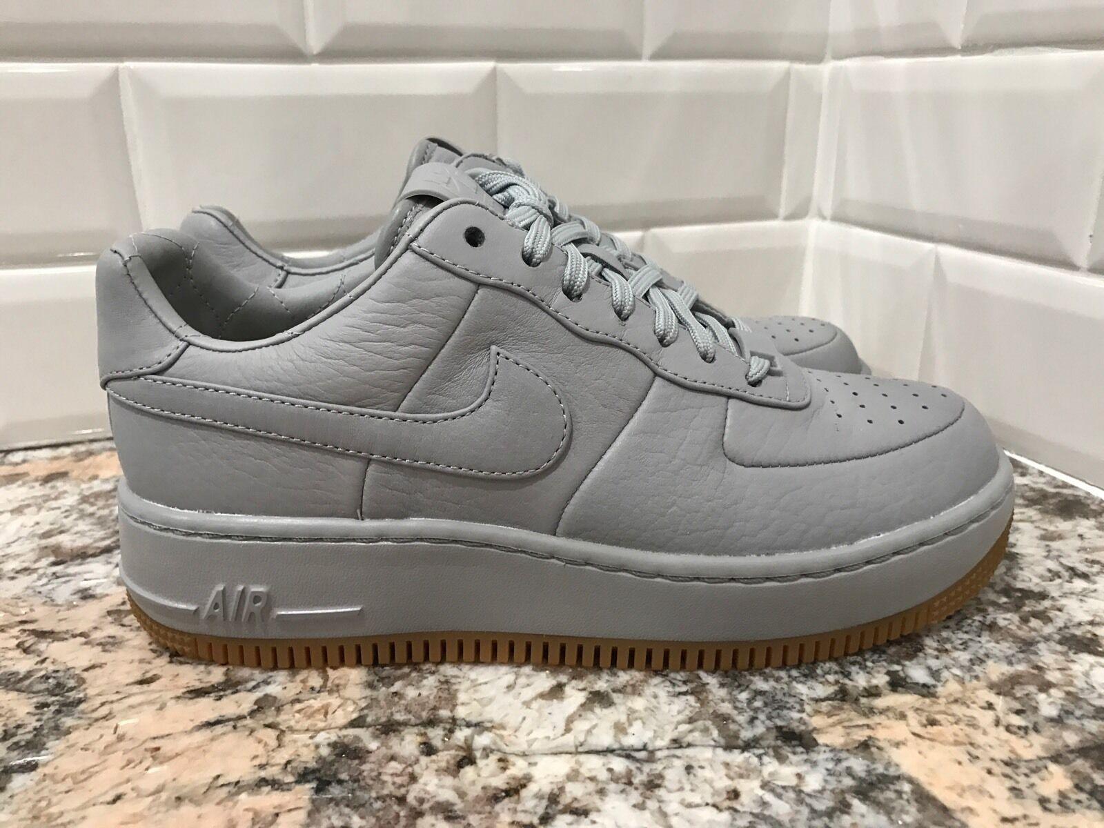 Nike NikeLab Air Force 1 AF1 Low Upstep Pinnacle Silver Grey SZ 7 856477-001