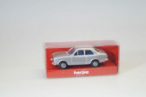 top//ovp 1:87 Herpa Somo Ford Escort silber