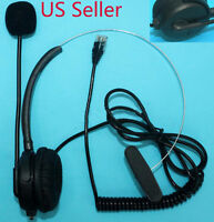 Replacement Headset For Plantronics A100 T10 T20 T110 S11 S12 Telephone Usa