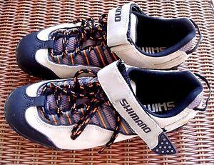 Shimano Cycling Bicycle Shoes SPD SH-MO36 Euro 40 USA Size 7 Leather Shoes
