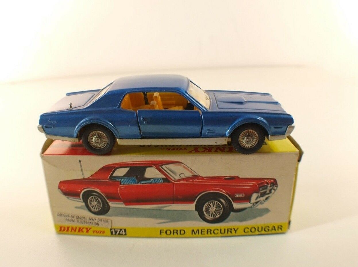 Dinky Spielzeug GB Nr. 174 Ford Mercury Cougar Neu in OriginalverVerpackungung