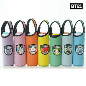 BTS-BT21-Official-Authentic-Goods-Bottle-Pouch-7Characters-Tracking-Num