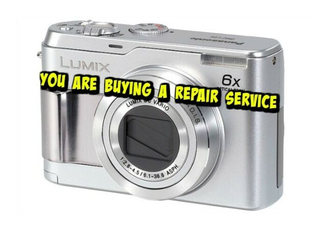 Panasonic LUMIX DMC-LZ3 5 0MP Digital Camera - Silver