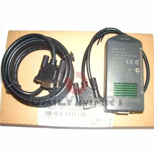 Programming Cable PLC FREE SHIP Brand New SIEMENS S7-300 S7300 PC-MPI