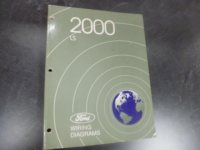 2000 Lincoln Ls Sedan Electrical Wiring Diagrams Manual 3