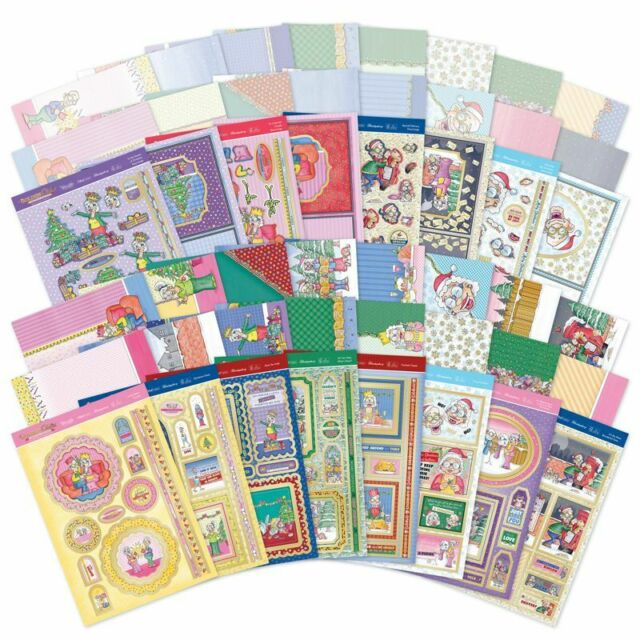 HUNKYDORY DELUXE CARD COLLECTION CARD MAKING CHOICE OF DESIGNS FREE UK P+P