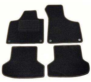 4 tapis de sol moquette sur mesure pour audi a3 8p 8pa 3p. Black Bedroom Furniture Sets. Home Design Ideas