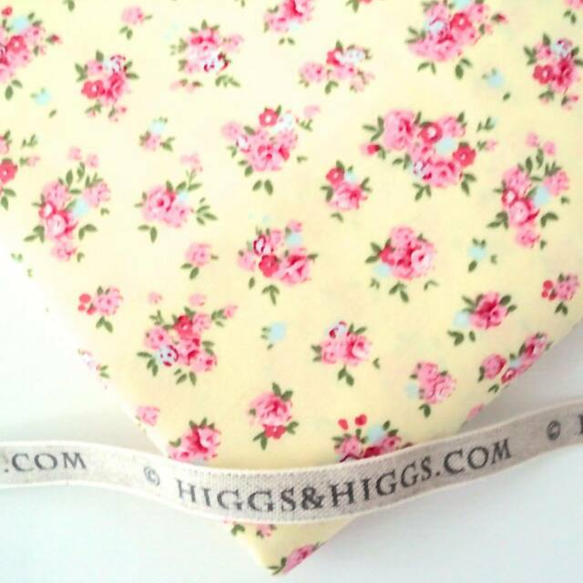 FORGET ME NOT YELLOW  - SPRING FLORAL 100% COTTON FABRIC patchwork craft fashion