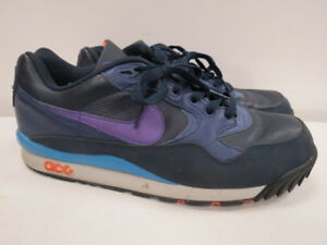 377757 Sneakers Nike Acg Wildwood 454 Obsidian Le Purple Air Size ZFqZY