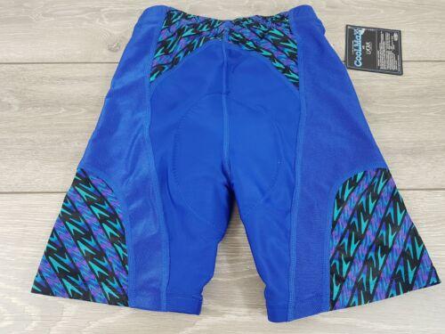 SPEEDO Coolmax Da Uomo Aquashort Nuoto Jammers pantaloncini taglia small blu A173