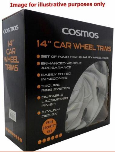 "Set of 4 14/"" Silver Wheel Trims Hub Caps fits Ford Focus Mondeo Fiesta KA"