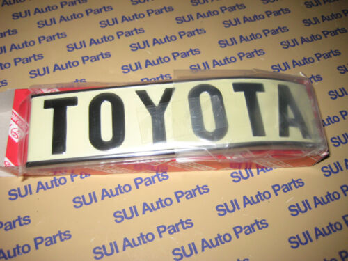 Toyota FJ40 BJ40 Rear Quarter Panel Body Emblem Passenger Side Rear 1972-1980