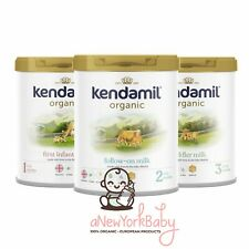 1 Can Kendamil Organic Powder Infant Formulas, Stages 1, 2 and 3 - 800g