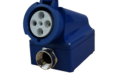Crouse Hinds CH460SMR9W-5015 Pin and Sleeve Plug Receptacle 60A 250V Welding New