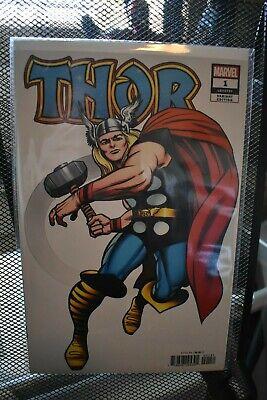 Thor #1 New Comic 2020 DONNY CATES 1:100 Kirby Hidden Gem Variant Surfer Black
