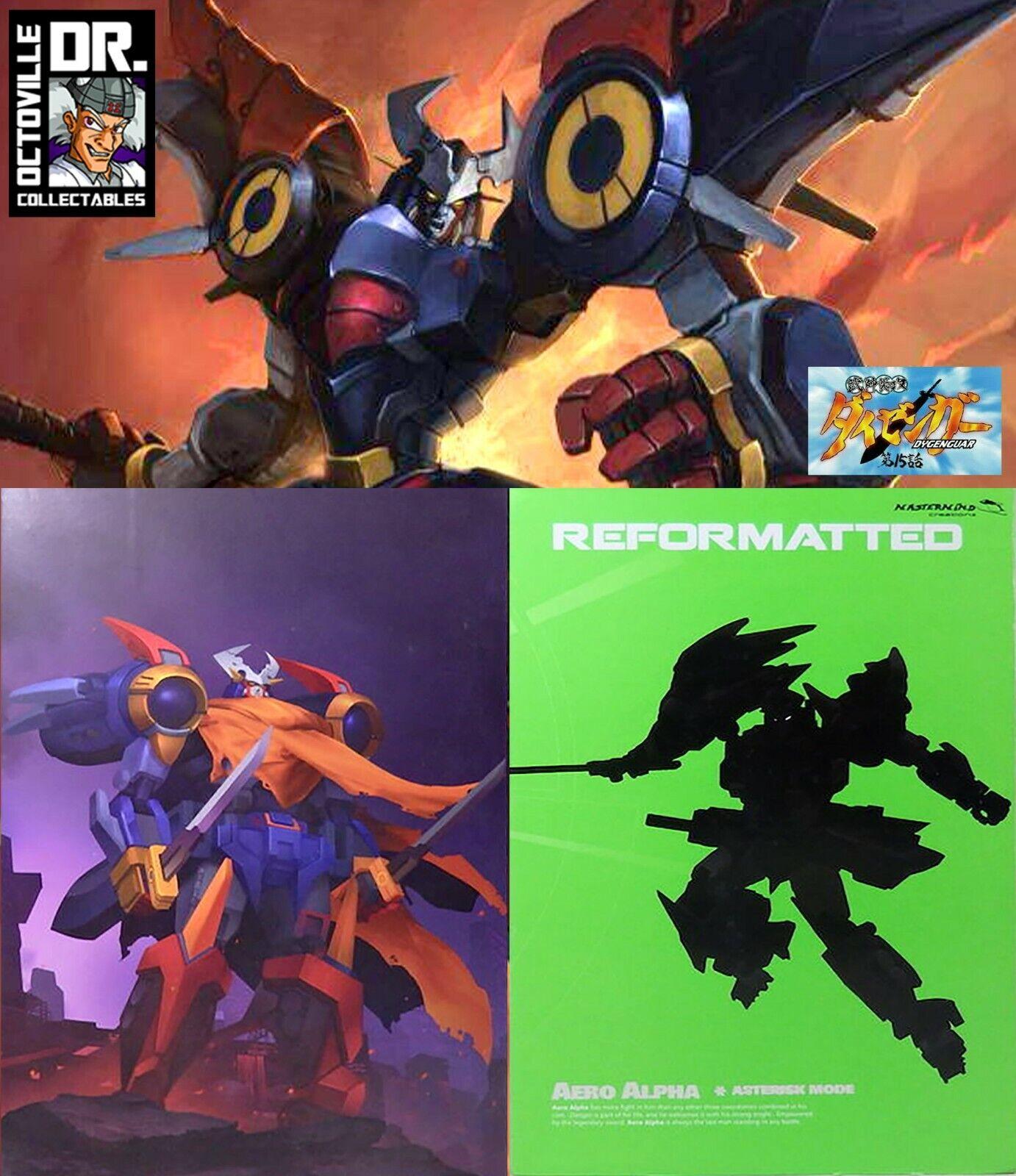 Transformers Mastermind Creations R-29AM Aero Alpha Asterisk Mode TFCon 2019 New