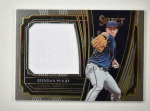 2020-Select-Rookie-Jumbo-Swatch-RJS-BM-Brendan-McKay-Tampa-Bay-Rays