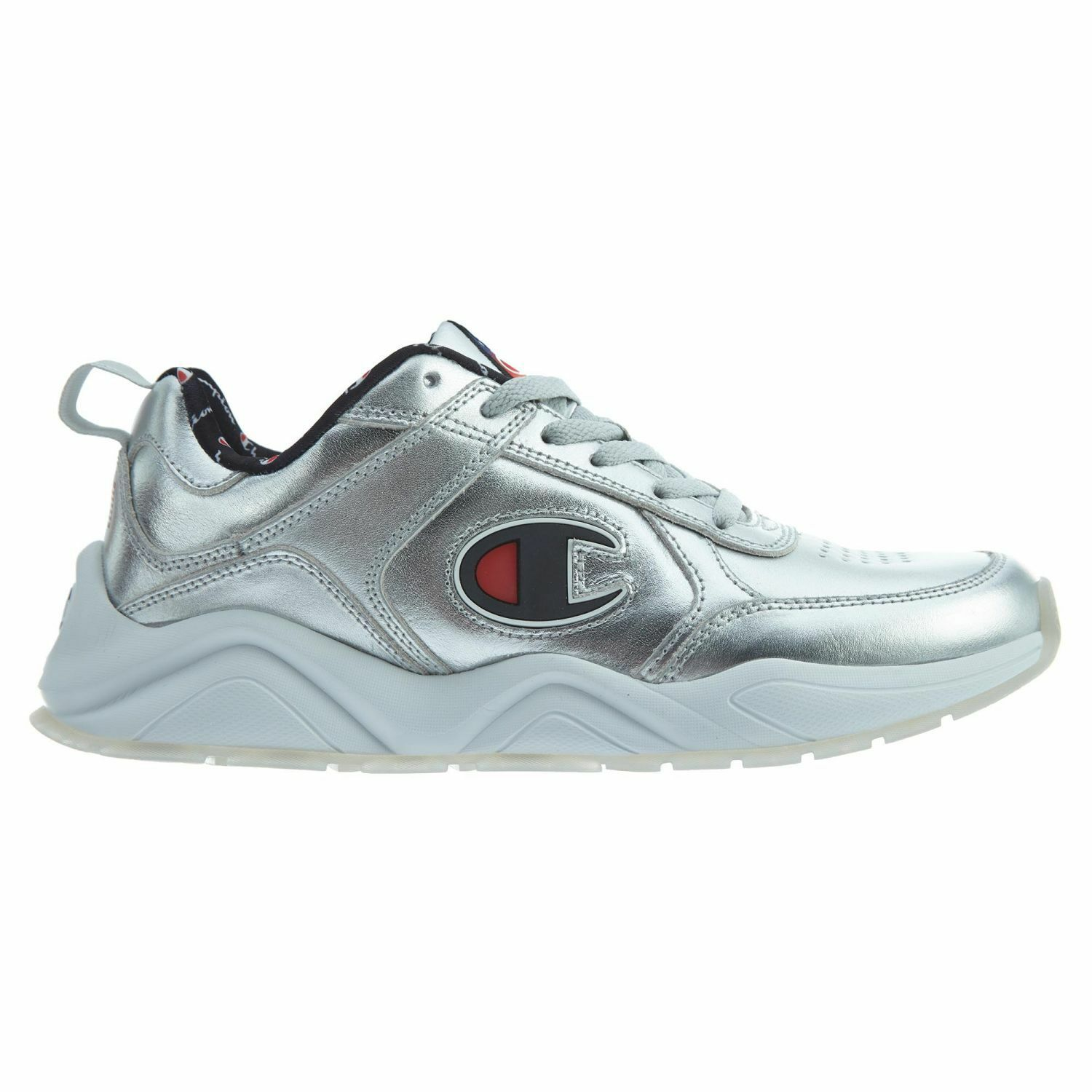 Champion 93 Eighteen Metallic Mens CM100111 Silver Athletic shoes Size 13