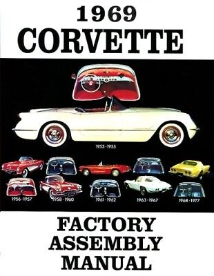 CORVETTE 1970 /& 1971 Wiring Diagram 70-71 Vette