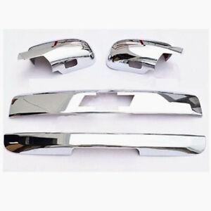 07-14 Suburban Chrome Lower Mirror+4 Door Handle+Liftgate+Tailgate+Logo Cover