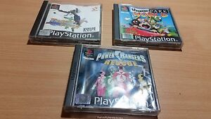 PS1-Playstation-1-Track-amp-Field-Power-Rangers-Theme-Park-World-Bundle