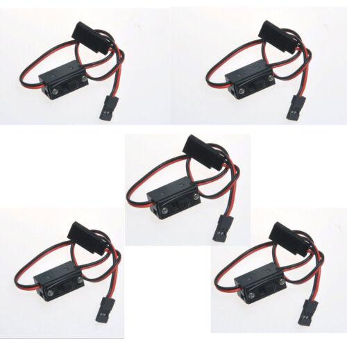 5Pcs On//Off RC Li-po Battery On//Off Switch Connector Plug Futaba JR Plug