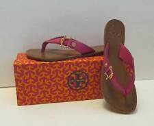 c59d832ad69cc5 item 8 Tory Burch Nora Fuschia pink logo leather thong 7 New sandal flat  shoe gold -Tory Burch Nora Fuschia pink logo leather thong 7 New sandal flat  shoe ...