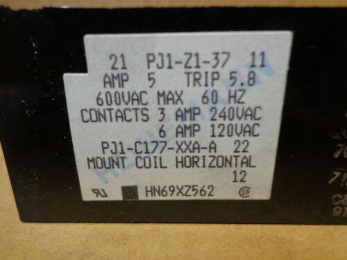 Heinemann Overload Relay 6//3A @ 120//240V Details about  /~Discount HVAC~ HN69XZ562