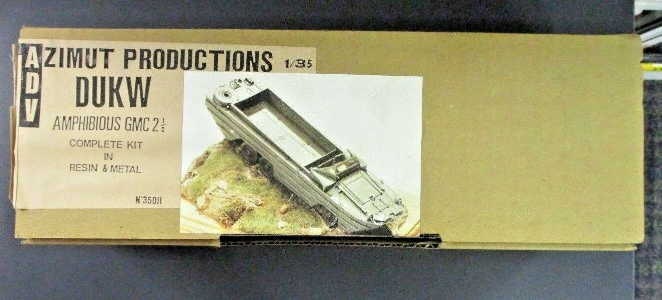 2 GMC Amphibious DUKW Resin Scale 35th 1 Azimut ADV 1 35011