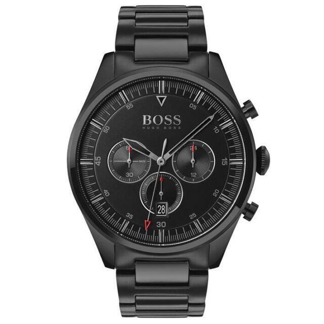 Orologio hugo boss analogico quarzo uomo con cinturino in acciaio inox 1513714