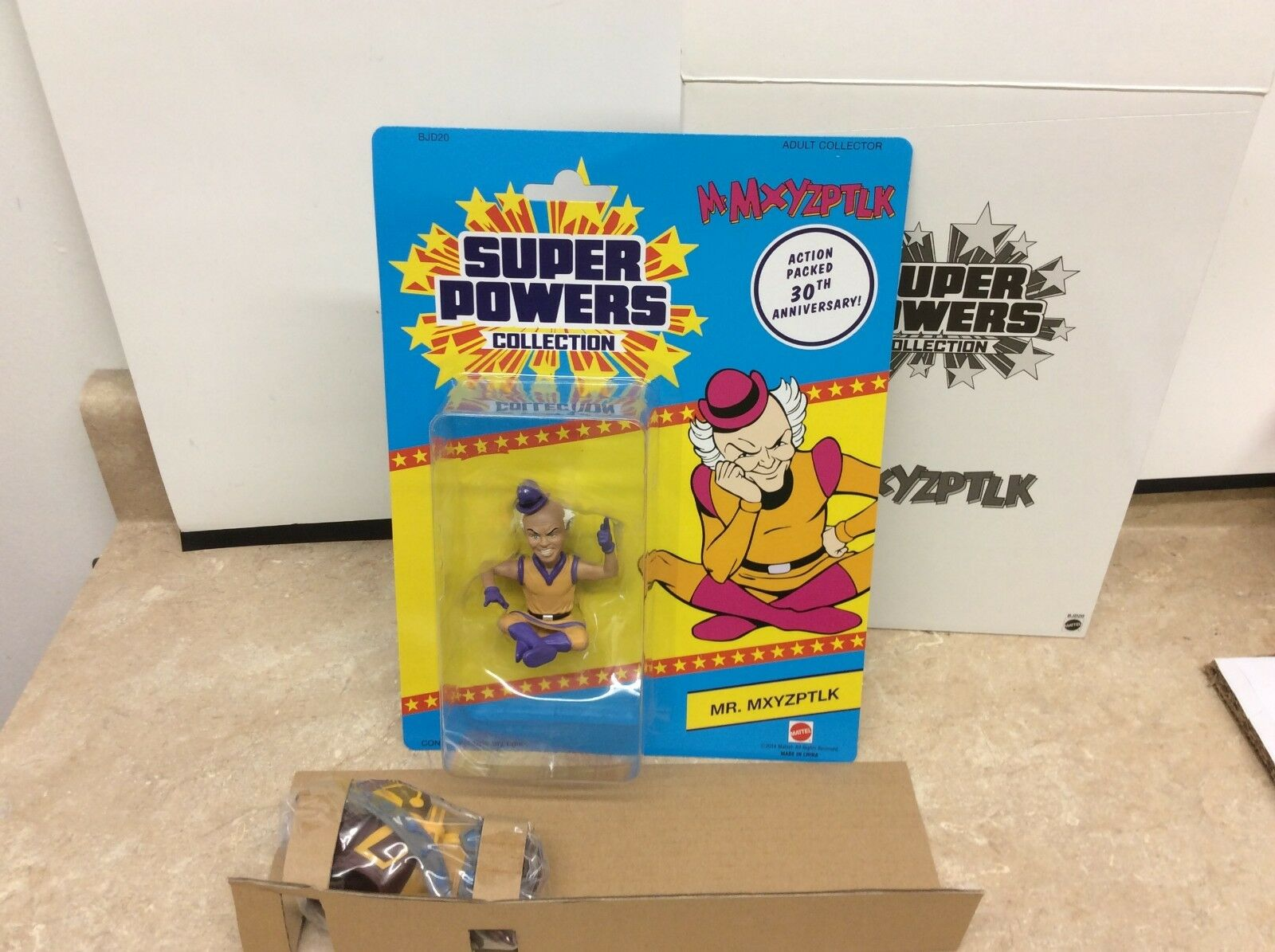 Mr. Mxyzptlk- Super Powers Collection Matty Exclusive New Shelf Wear
