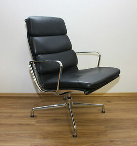 original herman miller vitra ea 215 softpad designer sessel charles eames lux366 ebay. Black Bedroom Furniture Sets. Home Design Ideas