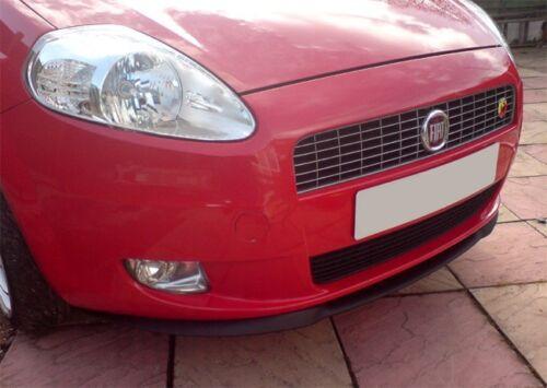 Para Fiat Punto Grande Cup Front alerón labio Front delantal Front labio enfoque