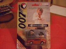 Corgi 99261 James Bond Solo Para Tus Ojos Rojo Lotus Sellado Moc escala 1:64 Nuevo