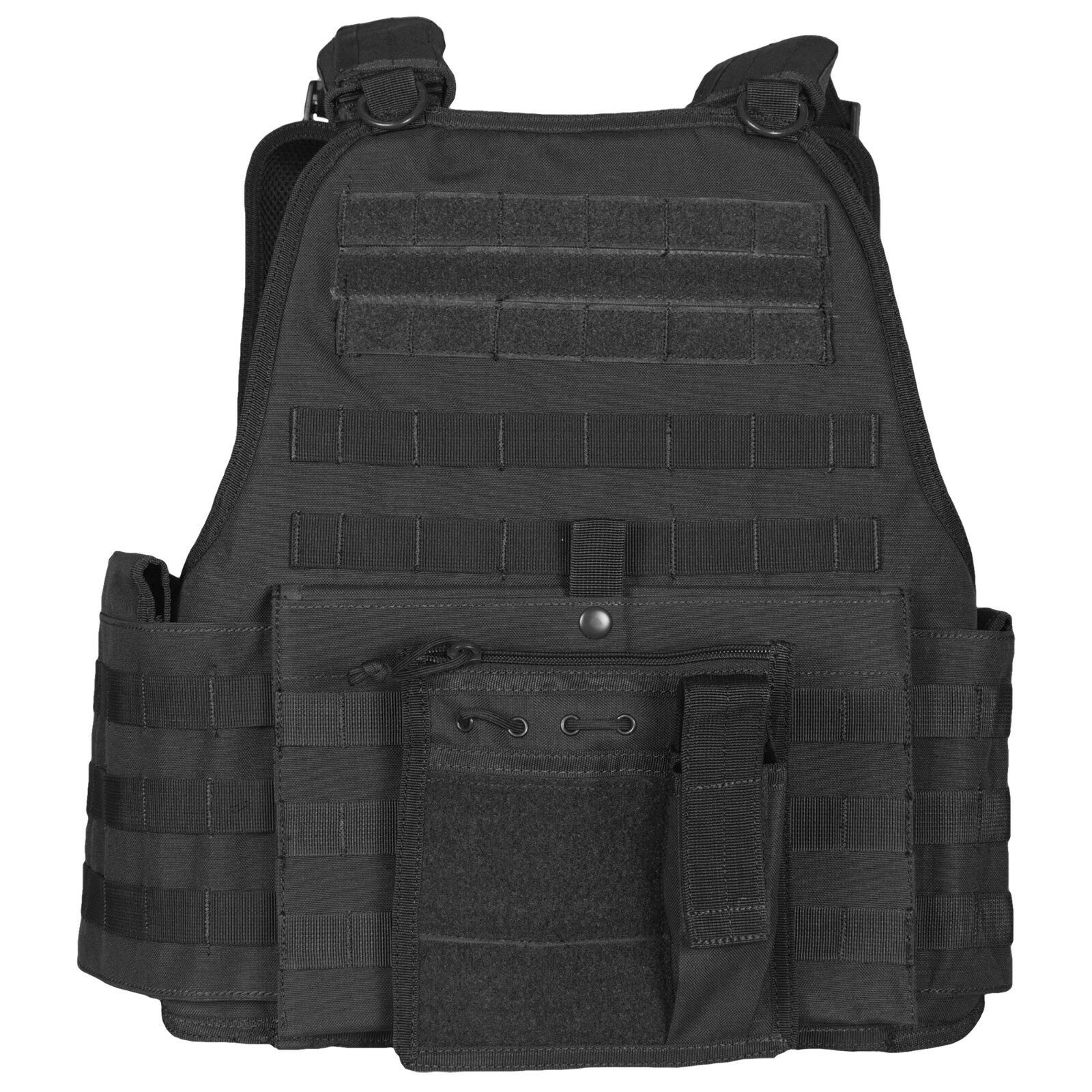 Big and tall tactical vital plate carrier vest oversized fox tactical 65-2105