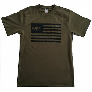 Never-Surrender-T-Shirts-AR15-Flag-100-MADE-IN-THE-USA
