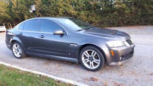 2009 Pontiac G8. Saftied $4000!!