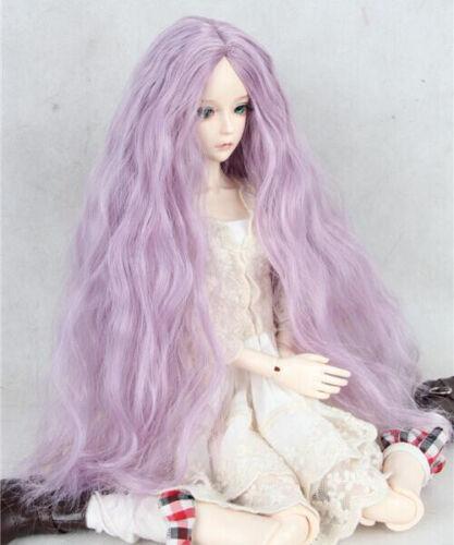 long wavy hair For 1//3 1//4 1//6 BJD Doll