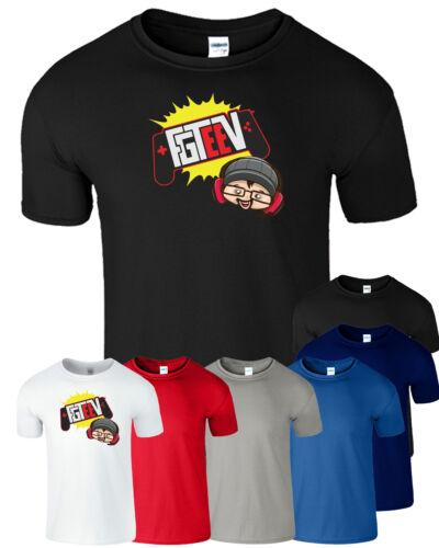 Gurkey Entonnoir VISION T shirt fgteev Gaming Hoody Sweat famille teev équipe Kids